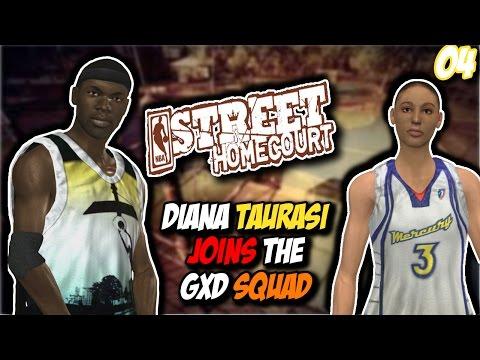 "NBA Street Homecourt: Homecourt Challenge Part 4 ""Diana Taruassi Is The Goat !!"" #GxdSquad [HD]"