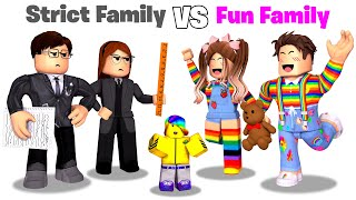 Download Roblox STRICT Family vs FUN Family.. 📝👪💖
