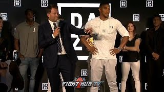 MATCHROOM & BELLATOR MMA - FULL DAZN US LAUNCH PRESS CONFERENCE VIDEO