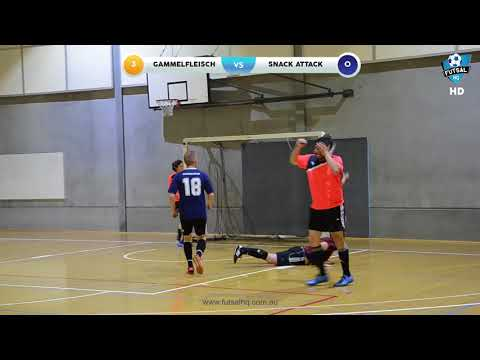 Futsal HQ - Carlton Mixed League GF : GAMMELFLEISCH v SNACK ATTACK (11/04/2018)