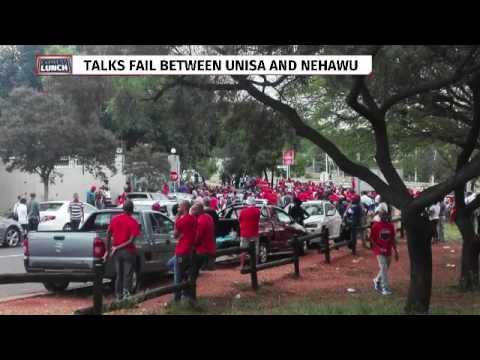 Nehawu strike action at Unisa
