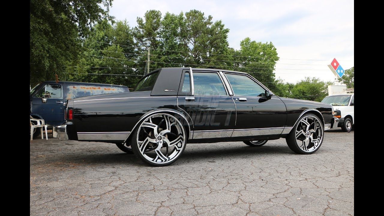 WhipAddict: 88' Chevrolet Caprice LS on Amani Forged Imperio 26s, 383  Stroker, Highway Footage