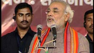 (Gujarati)Shri Narendra Modi at the Sadbhavana fast in Veraval HD