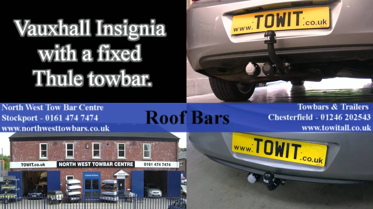 maxresdefault vauxhall insignia with fixed thule towbar youtube vauxhall insignia towbar wiring diagram at webbmarketing.co