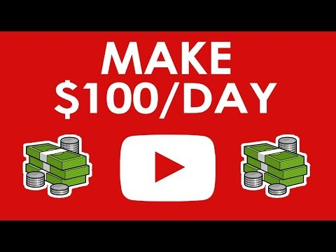 How to Make Money on YouTube Without Making Videos ($100 a Day)