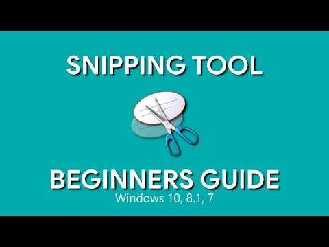 How to Use Snipping Tool (Beginners Guide)