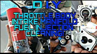 DIY F.I Cleaning | Intake Manifold Cleaning |Throttle Body Cleaning | Yamaha Mio i 125