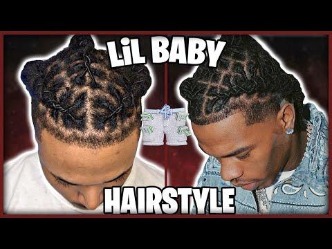 I Tried Lil Baby's Hairstyle *NEW* Barrel Twist Method 🤩
