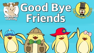 Скачать Good Bye Friends Good Bye Song For Kids Maple Leaf Learning And The Singing Walrus