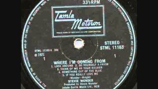 "Stevie Wonder ""Do Yourself A Favor"""
