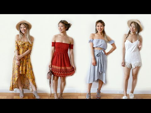 20 Outfit Ideas for Summer! Monthly Lookbook!