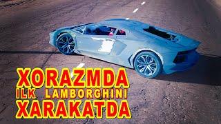 4-Серия. Копия Lamborghini Aventador в Узбекистане. Самодельный Ламборгини. 1-я ЕЗДА.