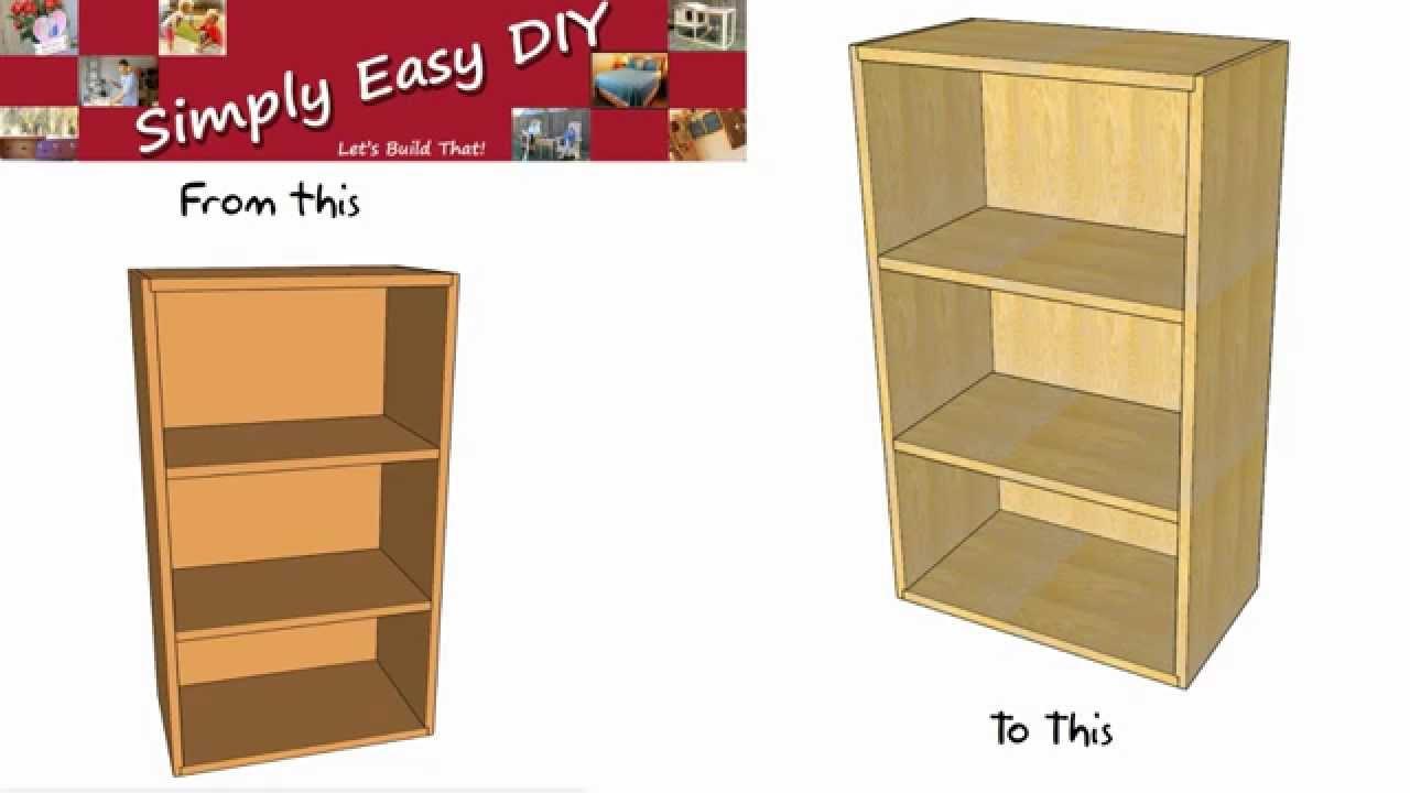 Upgrading A Basic Bookshelf Beginners Guide 2