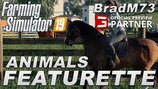 FARMING SIMULATOR 19 NEWS - Animals Featurette & REVIEW!!!