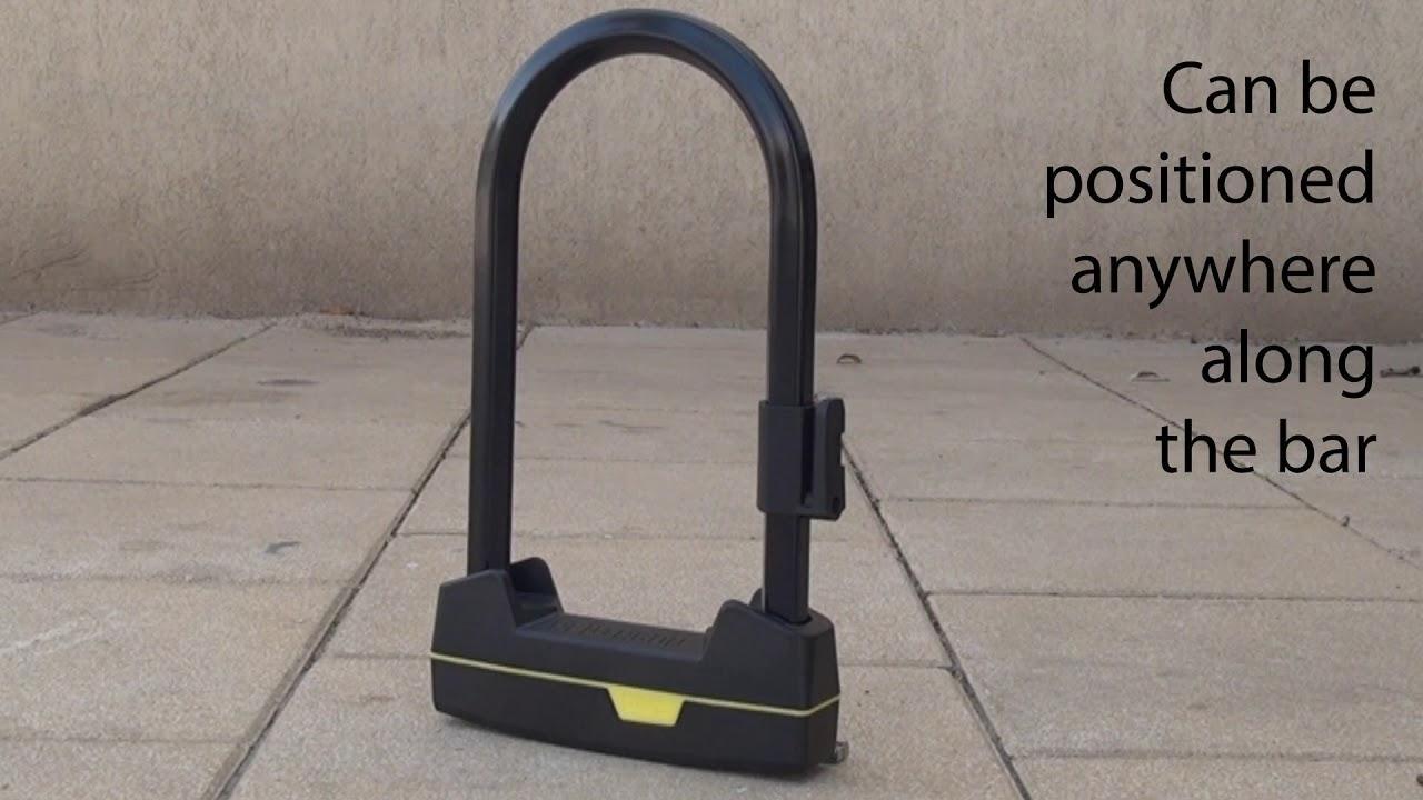 How To Install The Seatylock U Lock Mounting Bracket Youtube
