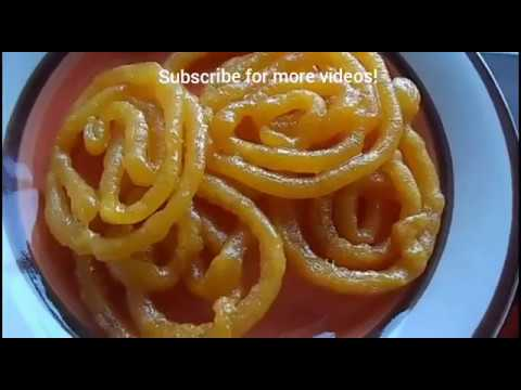 Instant Very Crispy and Juicy Rice Flour Jalebi Recipe