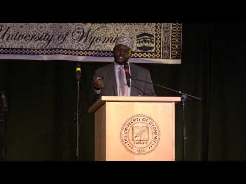 Dispelling misconceptions about Islam (University of Wyoming MSA)
