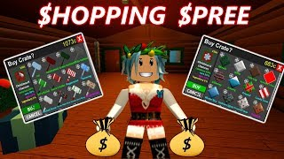 Christmas Shopping Spree (Roblox-Flee l'installation )
