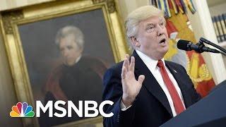 President Trump's Civil War Comments Show 'Lack' Of Understanding History | Andrea Mitchell | MSNBC