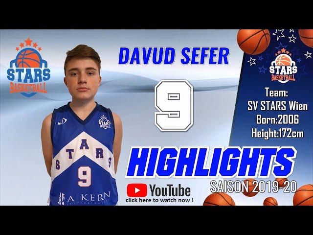Stars Highlights Factory : DAVUD SEFER Saison 2019-20