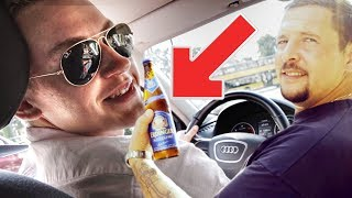 Bier Prank an Fahrschullehrer!