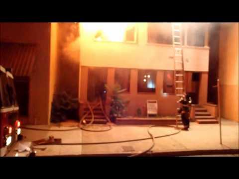 Stockton Fire Working Fire VES