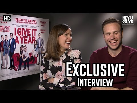Rose Byrne & Rafe Spall - I Give it a Year Exclusive Interview