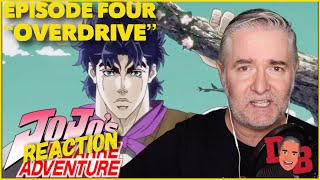 "Jojo's Bizarre Adventure Episode 4 ""OVERDRIVE"" REACTION"