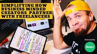 How Business Leaders and Creators Partner with Fiverr Freelancers