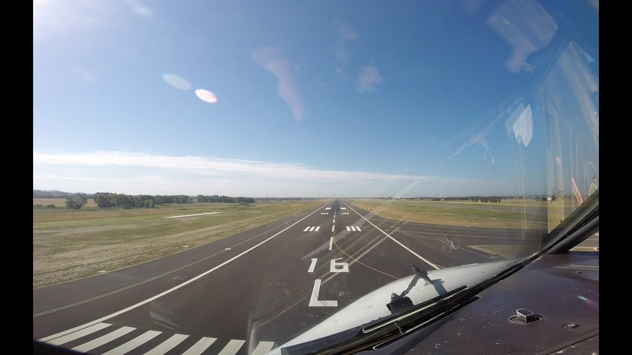 Download Approach & landing runway 16L Roma Fiumicino (FCO LIRF).