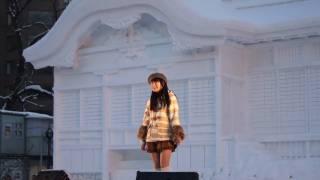 2011年2月11日 札幌雪祭りにて 教室 α55 唯月ふうか.