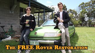 The FREE Rover SD1 Restoration - Episode 1 (ft. Hugh Jeffreys)