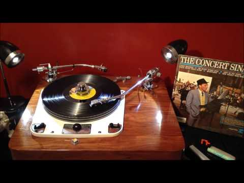The Concert Sinatra Frank Sinatra Concert LP Record Played On A garrard 301 Turntable