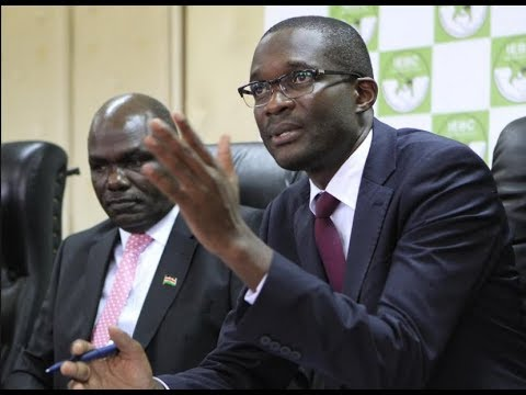 IEBC in disarray as marriage between Chairman Wafula Chebukati and CEO Ezra Chiloba gets tempted