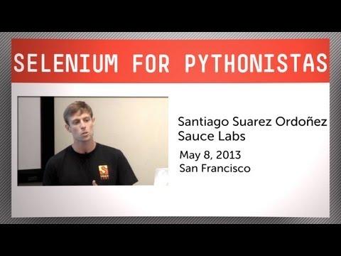 Selenium For Pythonistas