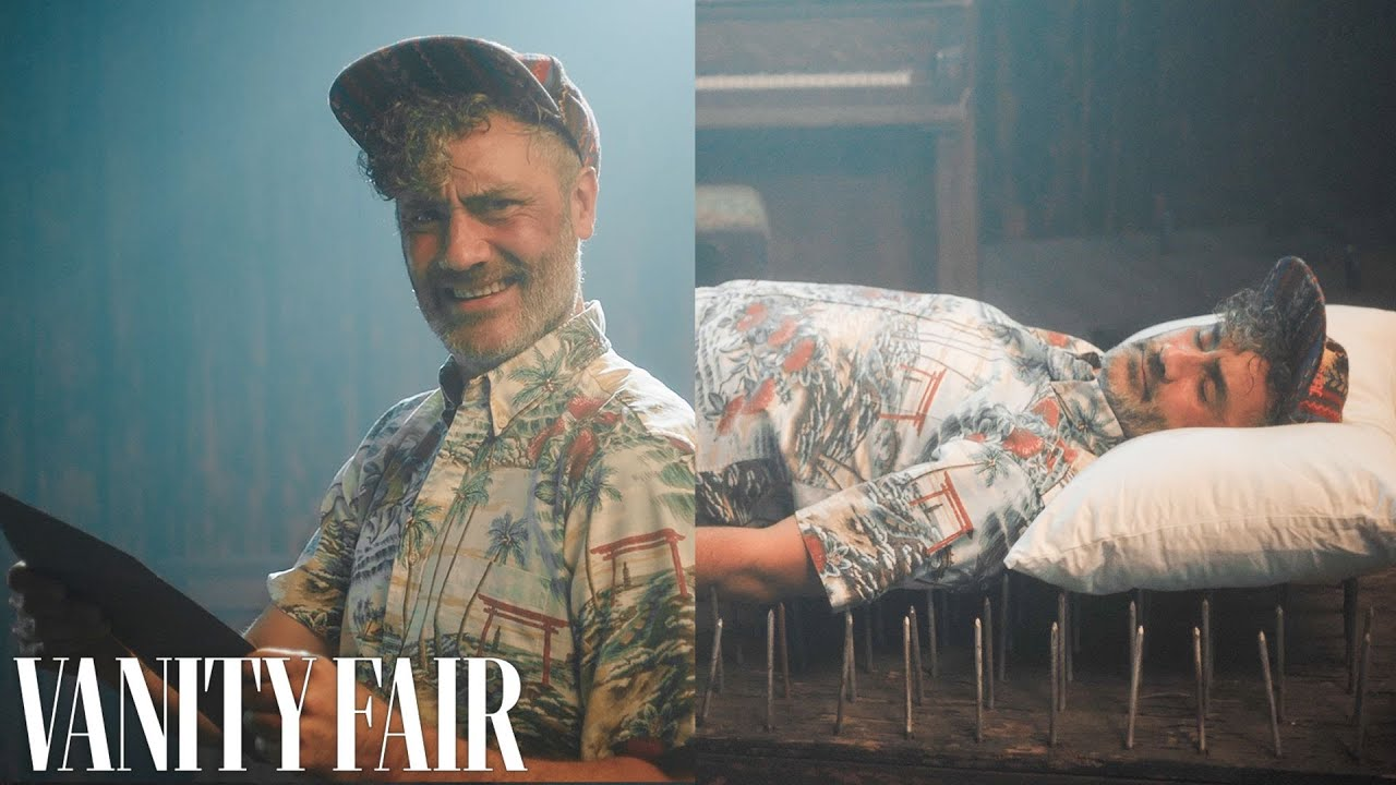 Taika Waititi Falls Asleep Everywhere | Surprise Showcase