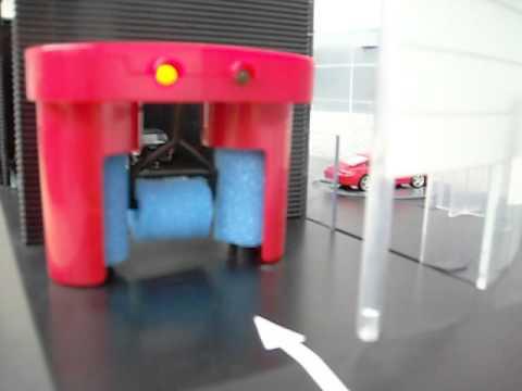 Norev Porsche Dealership Garage Car Wash Youtube