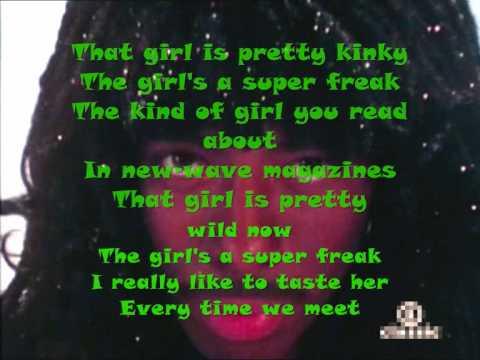 Rick James - Super Freak (Lyrics)
