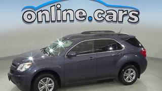 A10119XT Used 2013 Chevrolet Equinox LT FWD 4D Sport Utility Blue Test Drive, Review, For Sale