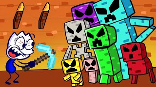 MINECRAFT CREEPER FARM   Max Gets Back What He Lost Gameplay Parody   Max's Puppy Dog