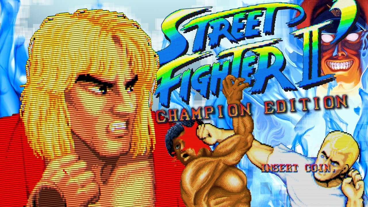 Street Fighter Ii Champion Edition Arcade Ken Full