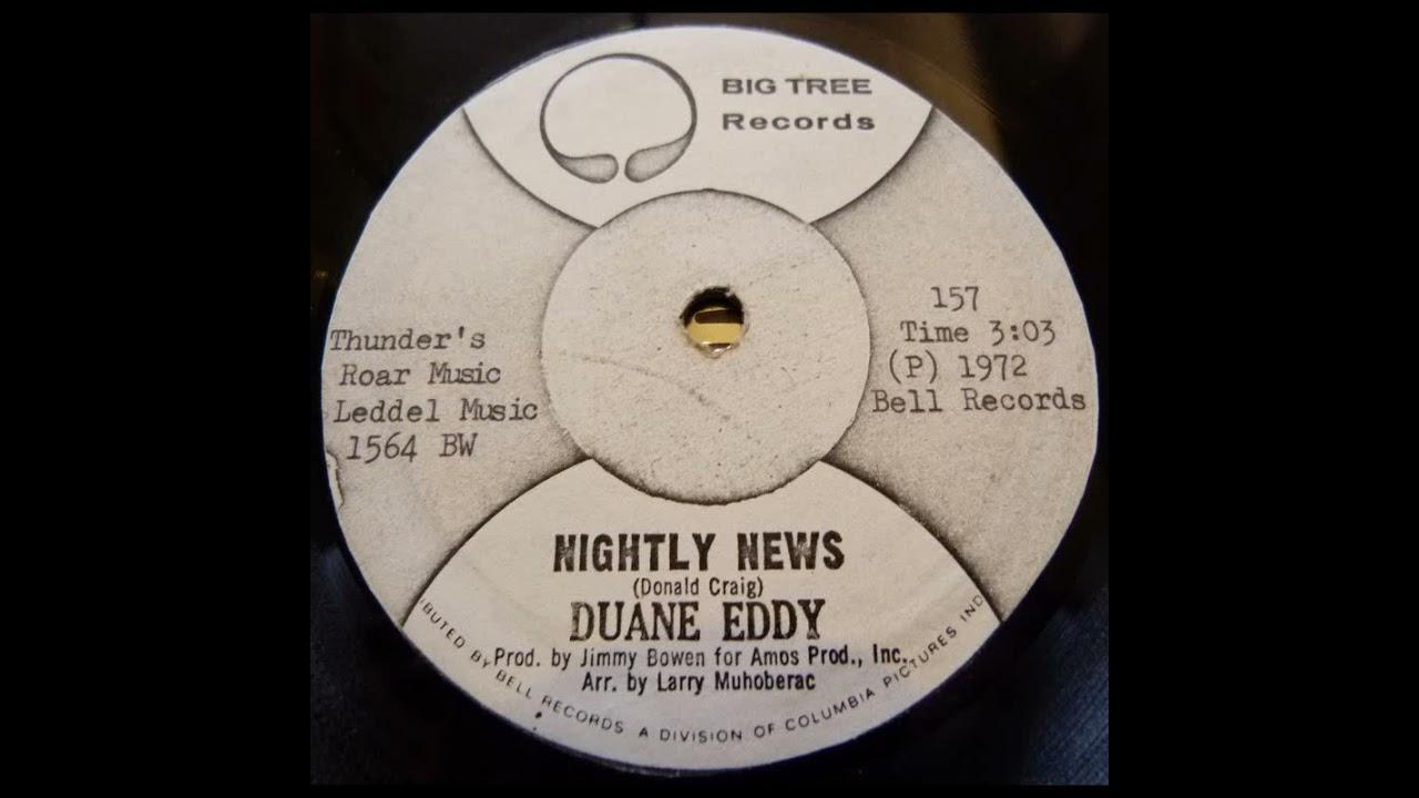 Duane Eddy - Nightly News (1972)