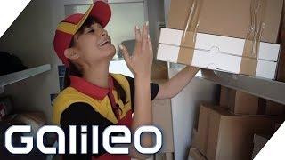 Selbstexperiment Paketzusteller: So hart ist der Job wirklich! | Galileo | ProSieben