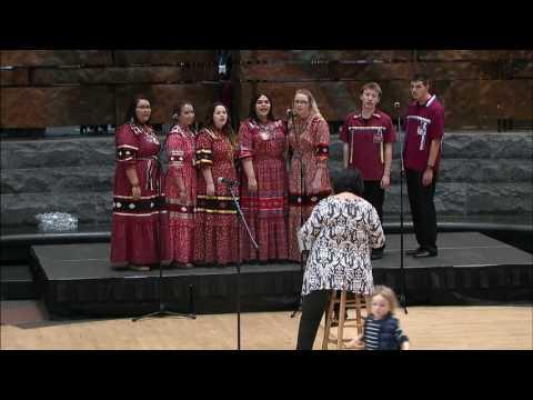 Cherokee Days 2017 - Cherokee National Youth Choir 1