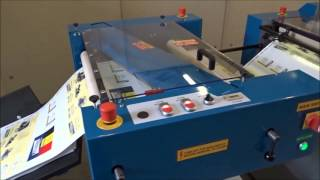 Laminator PC-50 PET film cutter