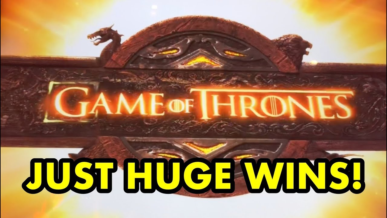 GAME OF THRONES SLOT: My Biggest Wins! - YouTube
