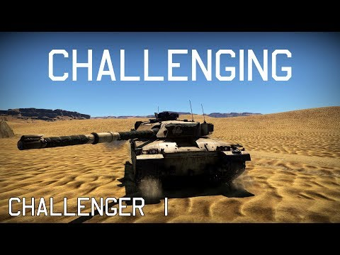Challenging - Challenger 1 - War Thunder Gameplay (Ace Matches)