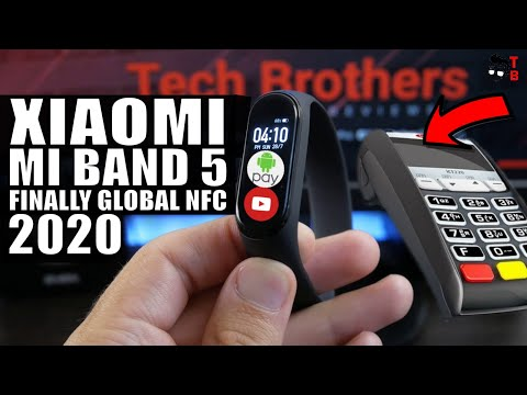 Xiaomi Mi Band 5: Global NFC And Android Pay! Leaks & Rumors