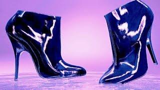 Как ухаживать за обувью | Лакированные туфли(Даю совет как поухаживать за своей лакированной обувью, а так же персонально придать блеск своим лаковым..., 2016-01-19T10:26:13.000Z)