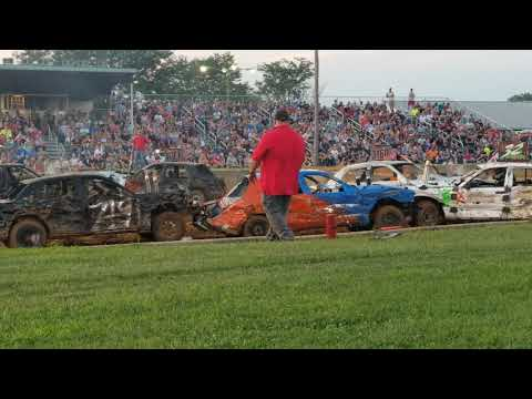 Part I ... 2019 Lebanon Area Fair Demolition Derby